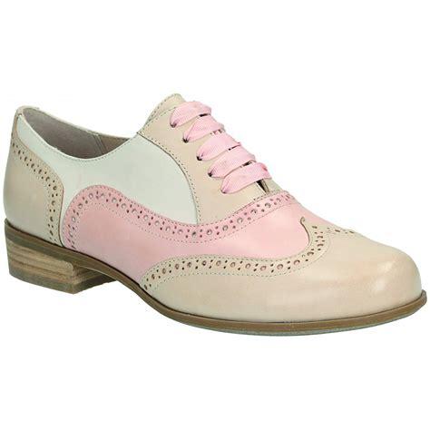 hamble oak dusty pink leather casual shoe