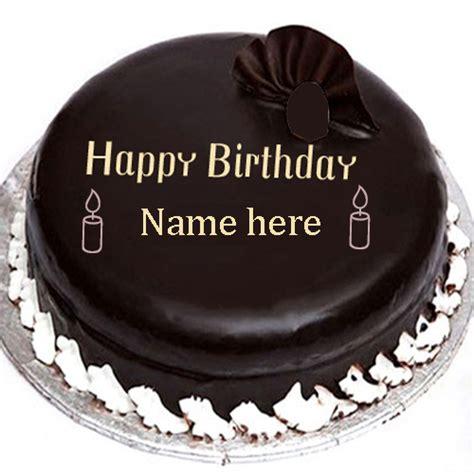chocolate birthday cake   edit