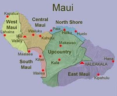 maui map pictures | map of hawaii cities and islands