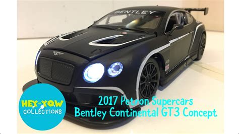 bentley supercar 2017 2017 bentley continental gt3 concept from petron supercars