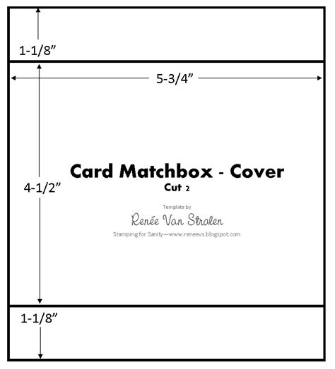 Matchbox Card Template by Card Matchbox Template Boxes Envelopes