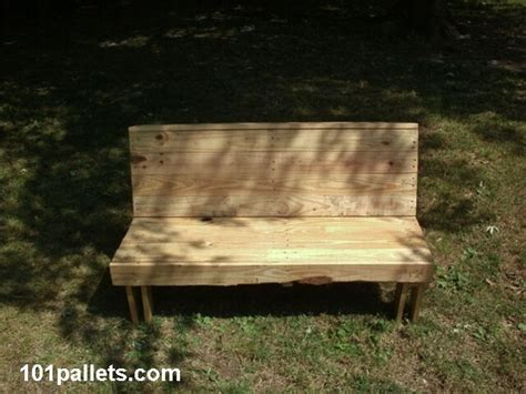 garden bench out of pallets 5 pallet garden benches to enjoy leisure time 101 pallets