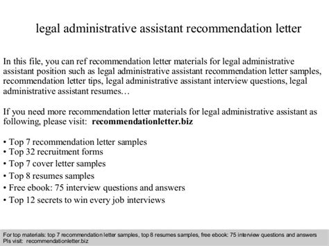 Judicial Release Letter Of Recommendation administrative assistant recommendation letter