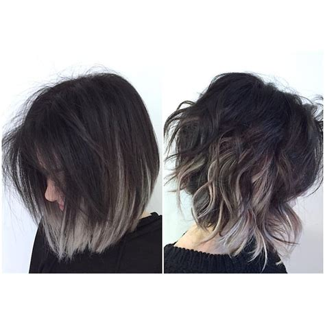 geay and brown hair styles r 233 sultats de recherche d images pour 171 balayage dark brown
