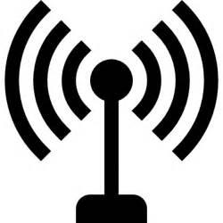 symbol le antenne avec le symbole de lignes de signaux t 233 l 233 charger