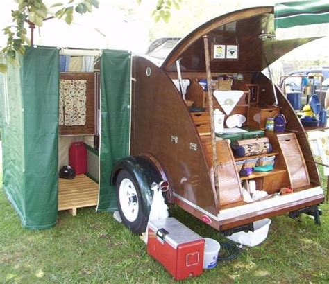 teardrop trailer bathroom tiny yellow teardrop how do you change your clothes in a