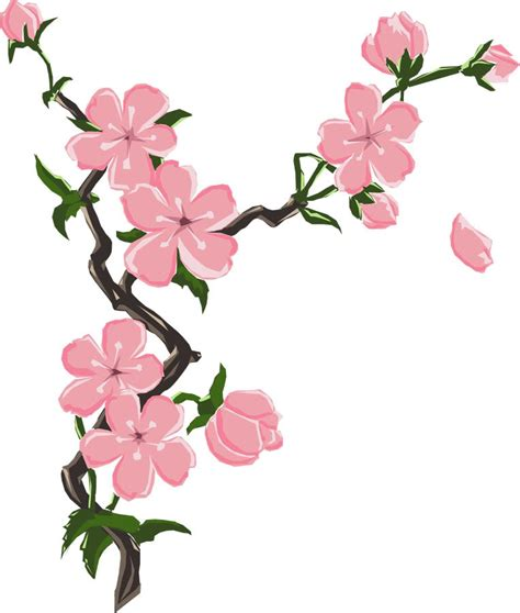 cherry blossom clip cherry blossom tree cliparts co