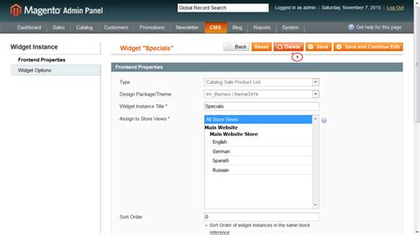 magento layout update remove magento how to disable quot specials quot block on home page