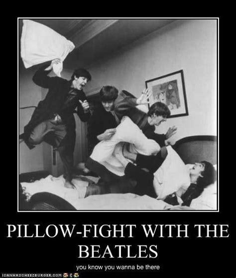 Pillow Fight Meme - 116 best the beatles