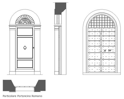 porta d ingresso dwg portoni portoncini dwg