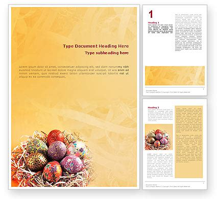 easter templates for word easter word template 02079 poweredtemplate com