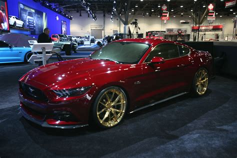 2015 mustang modified 2015 mustangs at the 2014 sema show