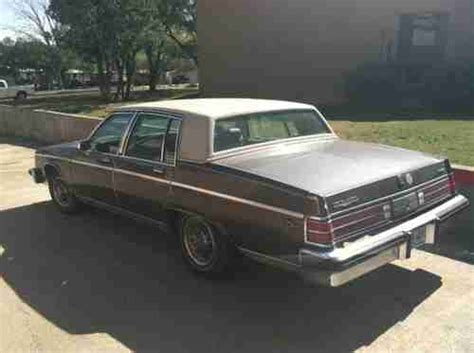 how petrol cars work 1984 buick electra engine control buy used 1984 buick electra park avenue sedan 4 door 5 0l in kerrville texas united states