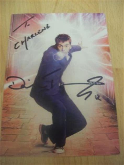 david tennant autograph chaz s autographs doctor who