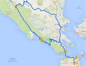 map of muir woods california 5 days in san francisco things to do in san francisco