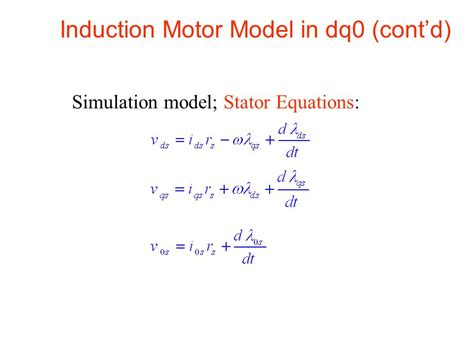 induction generator torque equation induction generator model equations 28 images simulink model of three phase induction motor
