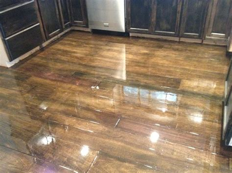 Stained Plywood Floor by 1000 Ideas About Stained Plywood Floors On