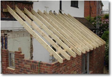 rafters supported  wall plate roof structure roofing