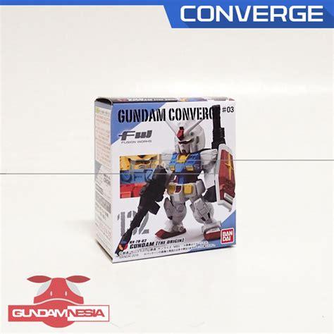 Converge Rx 78 converge rx 78 02 gundam the origin gundamnesia