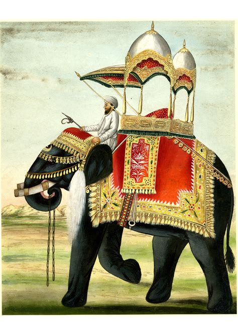 Decorated Elephants by File A Decorated Elephant With A Howdah On Its Back Jpg