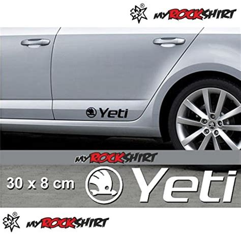 Yeti Aufkleber Auto by Skoda Yeti 2 X Aufkleber Autoaufkleber Auto Tuning Sticker