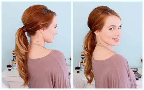 how to wash bump hair retro inspired ponytail youtube