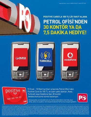 petrol ofisi positive card mobile campaign aerodeon