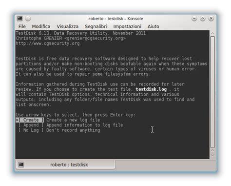 recuperare dati disk interno testdisk come recuperare dati da una pendrive o disk