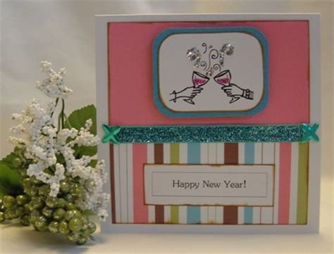 Handmade New Year Cards Ideas - new year greeting cards free ideas to use for your