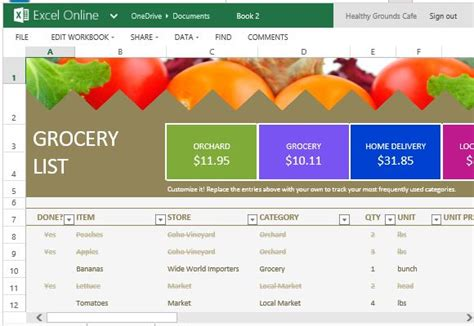 grocery price list template product price list comparison template for customer
