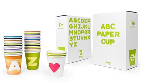 Abc Cup abc paper cup the dieline packaging branding design