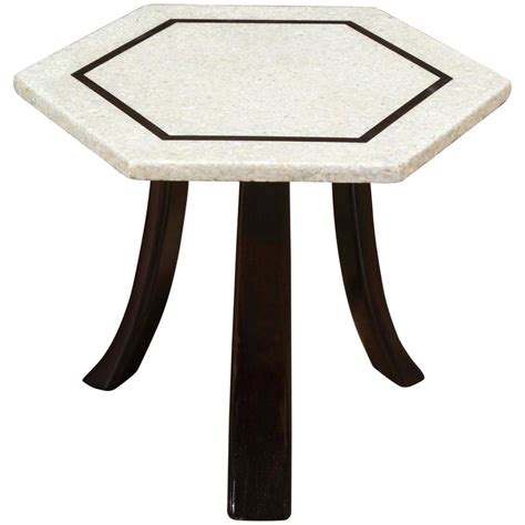 Hexagonal Table by Probber Hexagonal Table At 1stdibs
