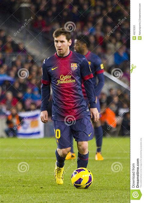 barcelona last match lionel messi editorial photo image 49276301