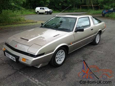 1985 mitsubishi colt starion turbo gold rare narrow body early hot hatch rare