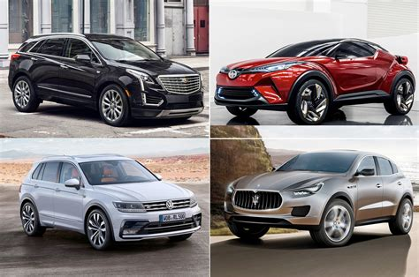 Chrysler Suvs And Crossovers by 20 Crossovers Suvs To Look Forward To In 2016 And Beyond
