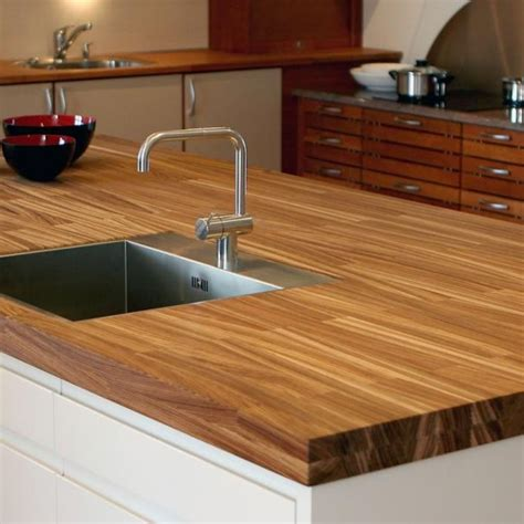 unique and sustainable wooden counter tops