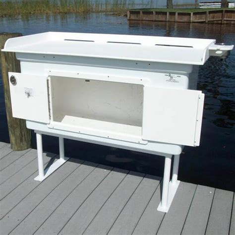 granite river outdoors fillet station table fish cleaning tables fish cleaning table outside the house
