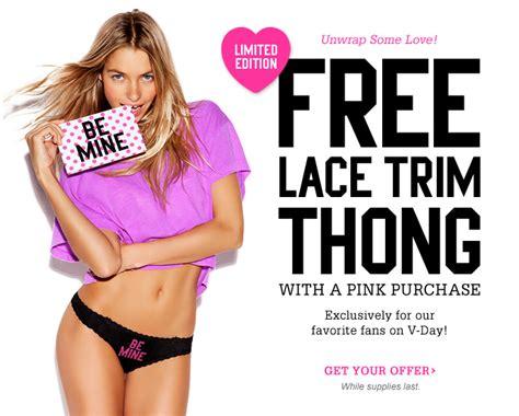Victorias Secret Free Pink by Pretty Savings S Secret Free W