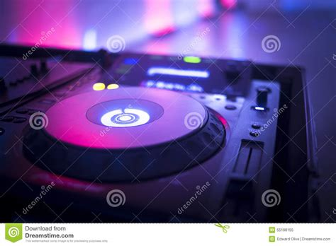 ibiza house music dj console mixing desk ibiza house music party nightclub stock photo image 55188155