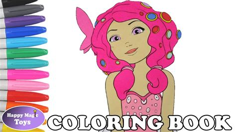 Mia and Me Coloring Book Page Mia and Me Colouring Page