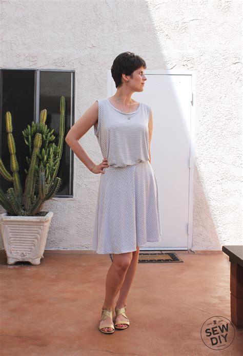 diy knit skirt diy striped knit circle skirt sew diy