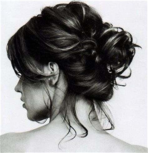 hairstyles buns messy for black black and white hair messy bun messy hair image