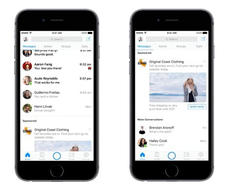 best android messenger sorry folks messenger ads are rolling out globally