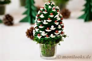 weihnachtsbaum deko basteln diy weihnachtsdeko basteln mit tannenzapfen