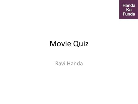 film quiz slideshare movie quiz for entertainment based on bollywood trivia 2016
