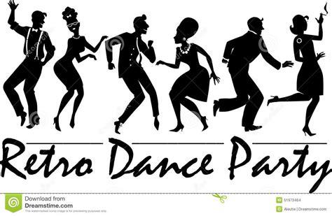 vintage dance party party dancing silhouette www pixshark com images