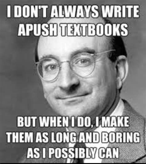 Us History Memes - ap us history book alan brinkley