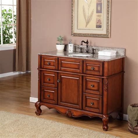 "Prieto 45"" Single Sink Vanity By Valore   Bathrooms"