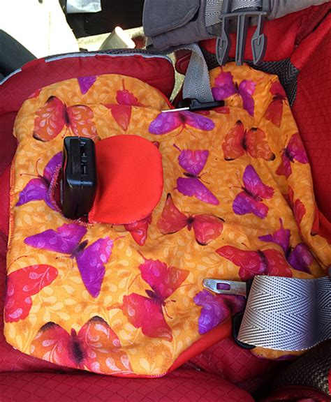 car seat piddle pad pattern baby on board make a potty car seat piddle pad