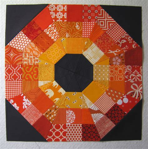 quilt pattern octagon 100 days week of blocks octagonal orb block tutorial
